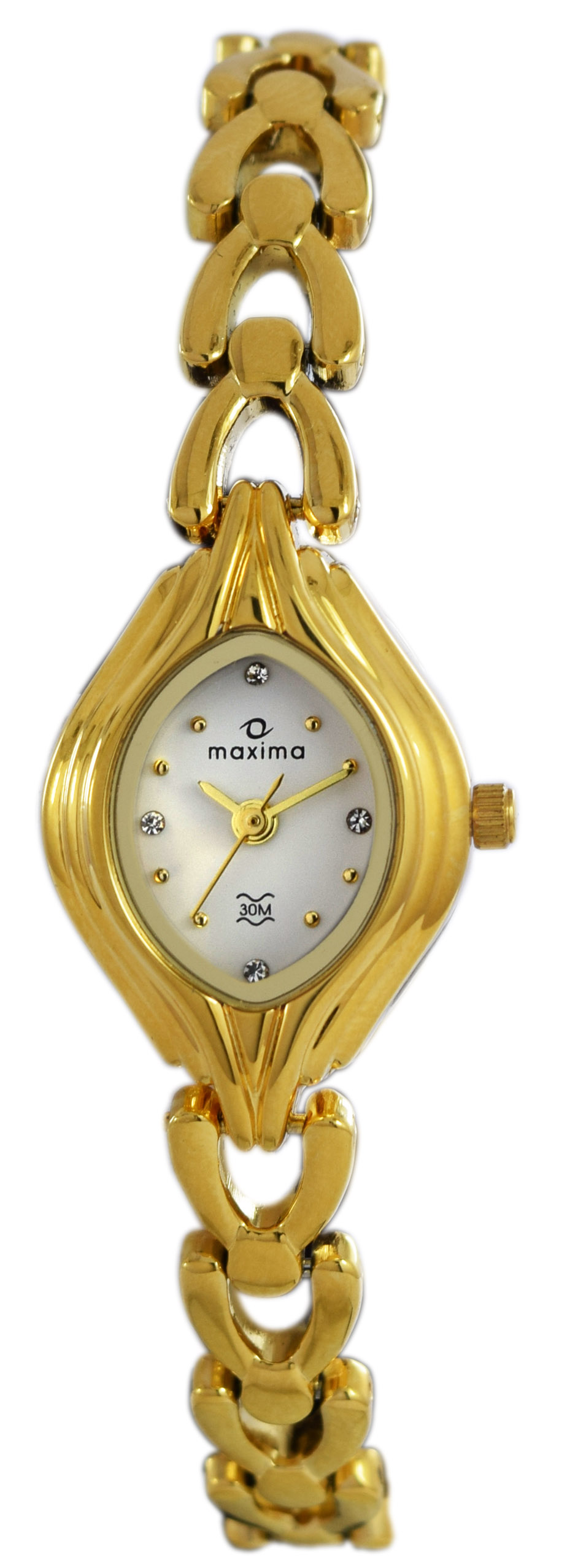maxima gold analogue watches 04887bmly for prices
