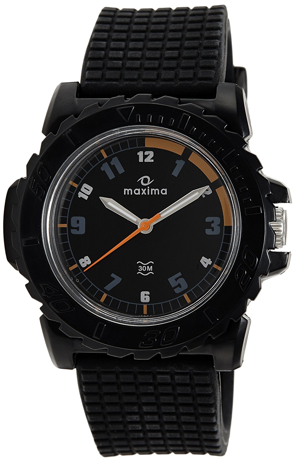 maxima black analogue watches 12027ppgw for prices