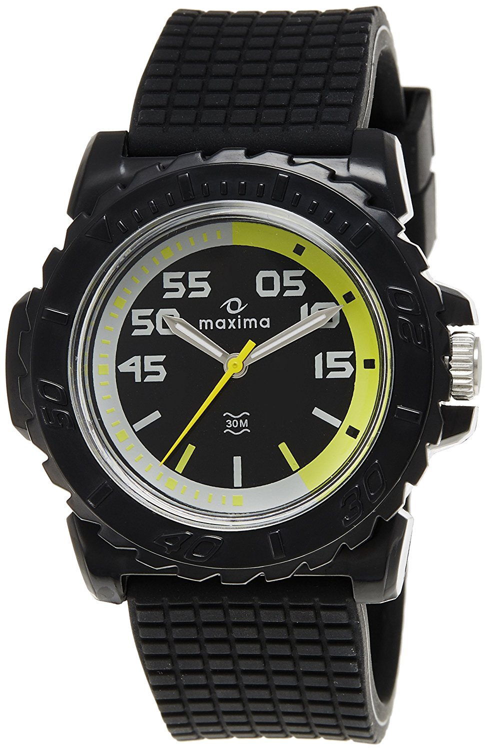 maxima black analogue watches 12028ppgw for prices