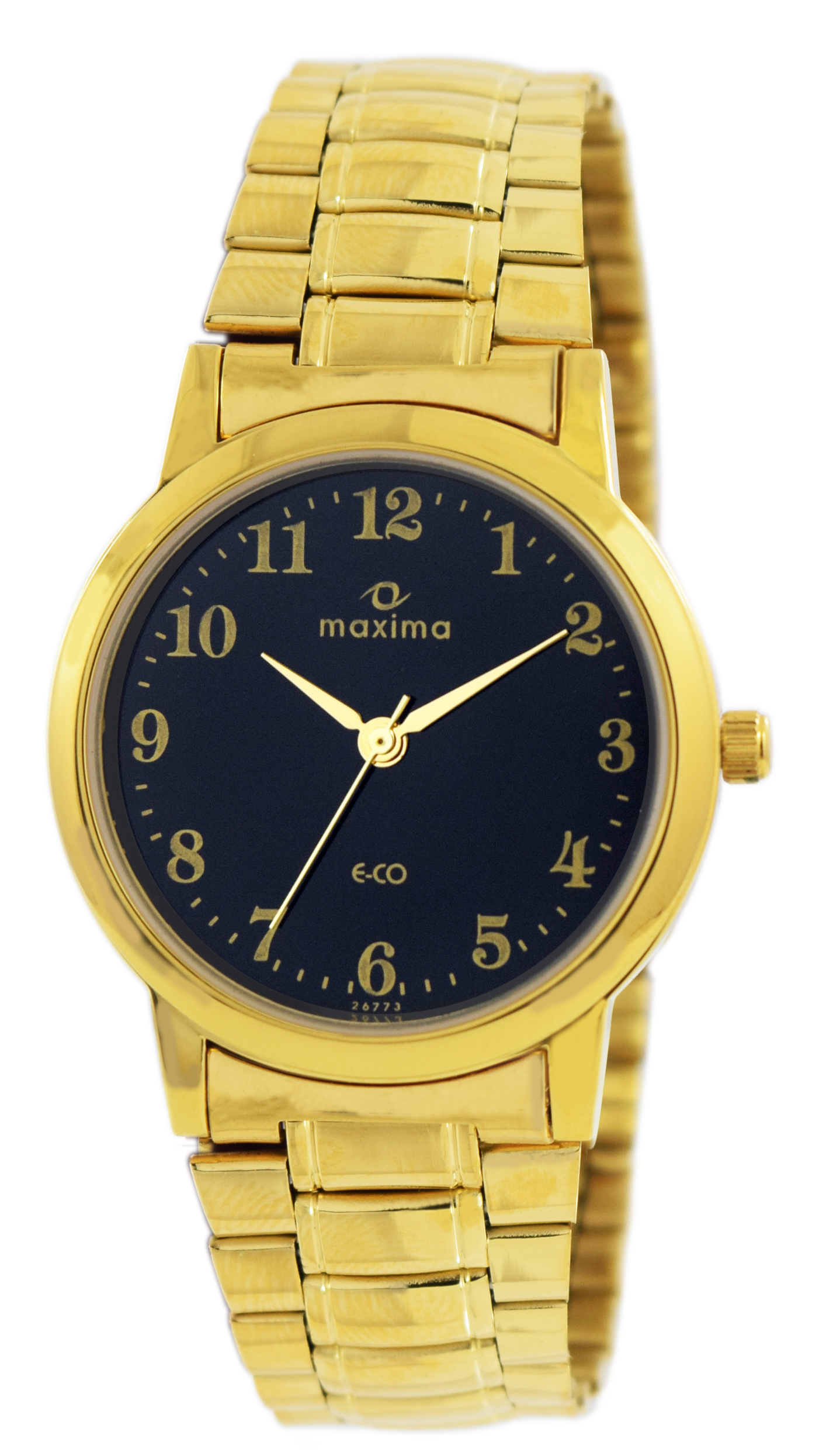 maxima gold analogue watches 26773cmgy for prices