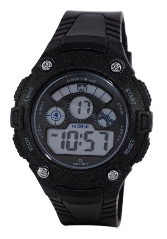 maxima black digital watches 39010ppdn for prices