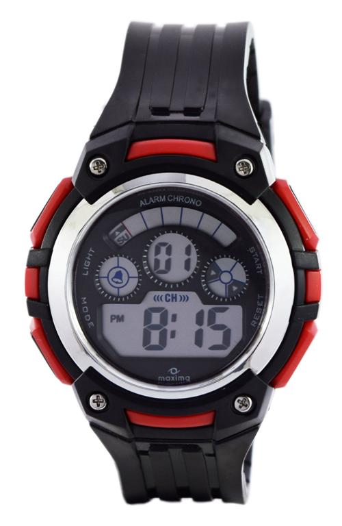 maxima black digital watches 39022ppdn for prices